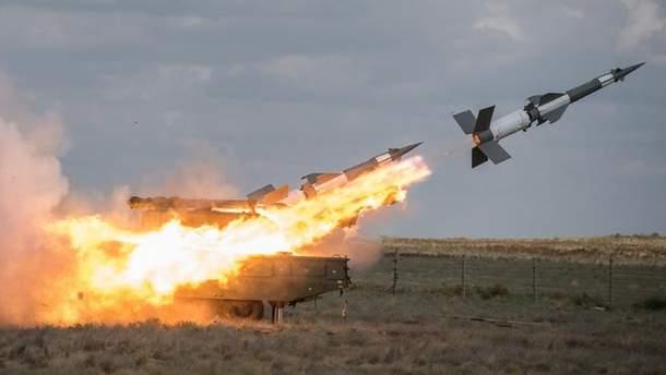 Україна розпочала ракетні стрільби поблизу Криму