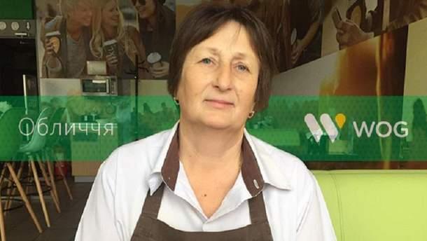 Любовь Борейко, повар на АЗК WOG