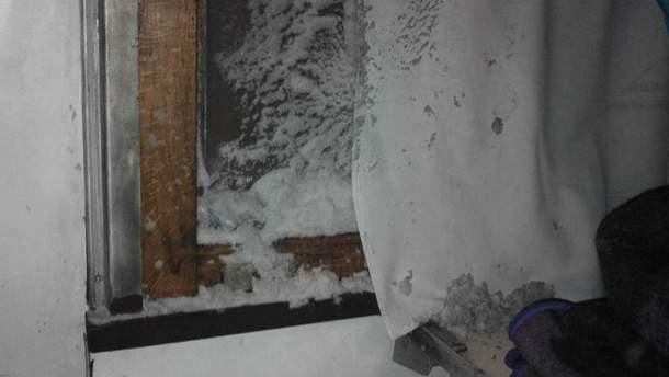 Сніг у вагоні