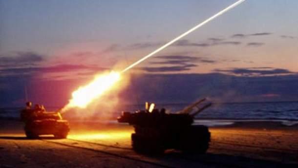 Марьинка и Новогригорьевка попали под зенитный огонь противника, – штаб АТО