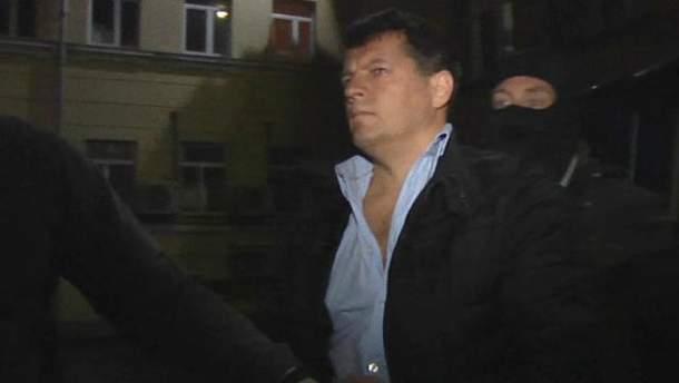 Сущенка затримали 30 вересня в аеропорту Москви