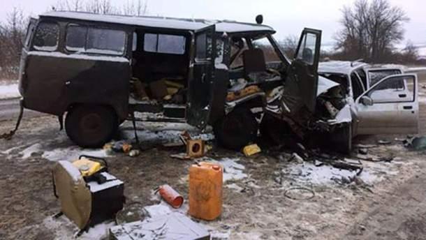 ДТП в Донецкой области