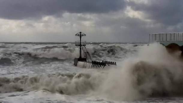 Ураган в Сочі