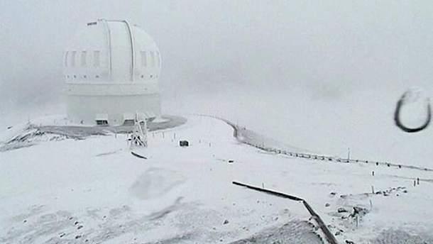 Сніг на Гаваях