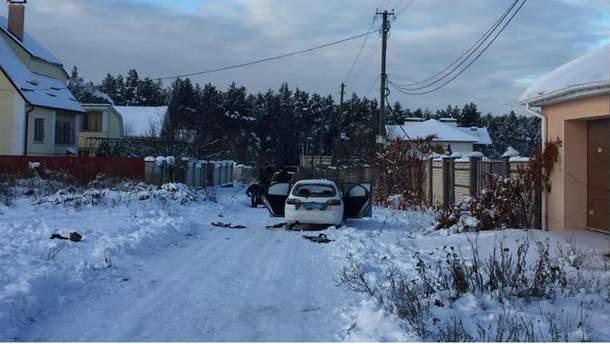 Машину ДСО обстріляли у селі Княжичі
