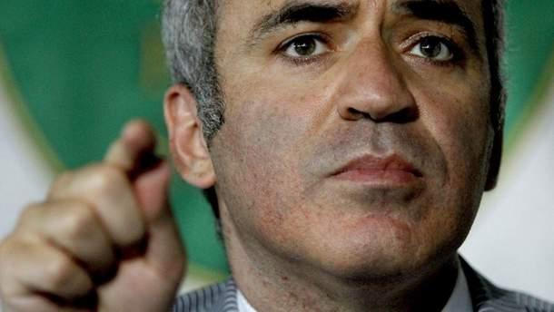 Чемпіон світу з шахів Гаррі Каспаров