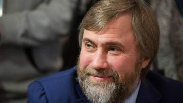 Неприкосновенность Новинского теперь в руках депутатов