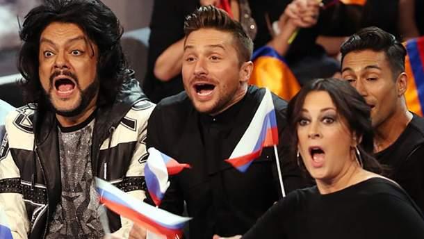 Россия на Евровидении