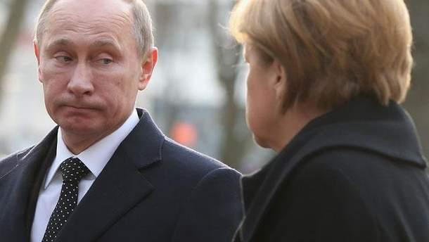 Путіну невигідно, аби Меркель переобрали на ще один термін