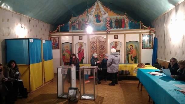 Виборча дільниця на Рівненщині розміщена у каплиці