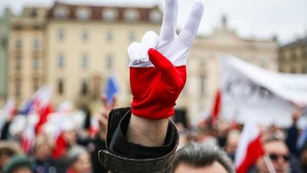 Украинцы едут в Польшу