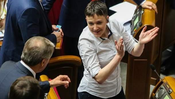 Савченко покинула лави партії понад місяць тому