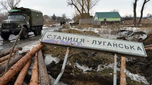 Бойовики обстріляли Станицю Луганську