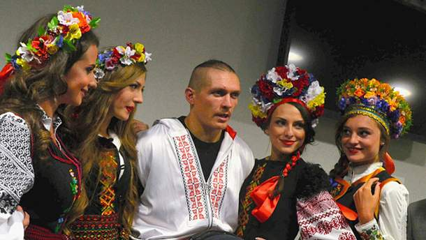 Не только украинки любят Сашу