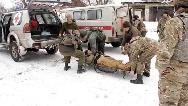 Евакувація поранених