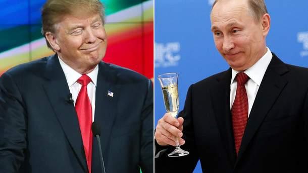 Путін привітав Трампа зі святами