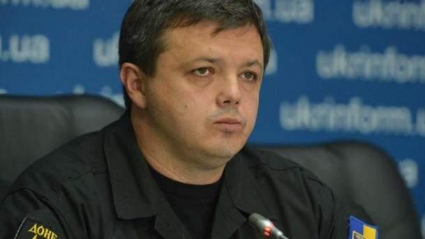 Семенченко говорит, что не с кем согласовывать действия