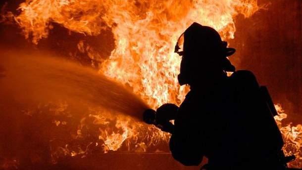 Пожар вспыхнул на местной пилораме