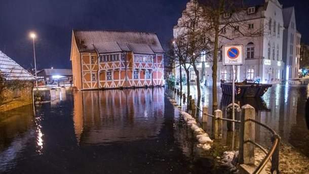 Ураган у Німеччині