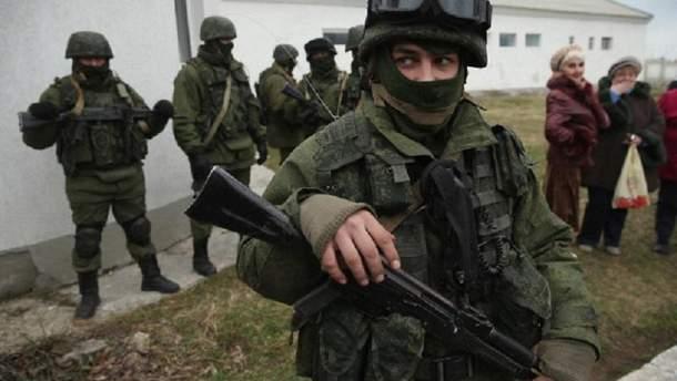 Солдати у Криму