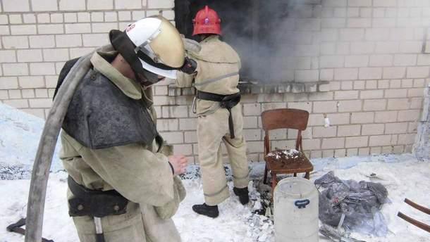 Пожарники сумели ликвидировать пожар