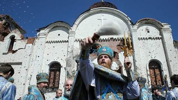 Священник Иверского монастыря в Донецке (УПЦ МП)