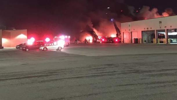 Пожар в Детройте