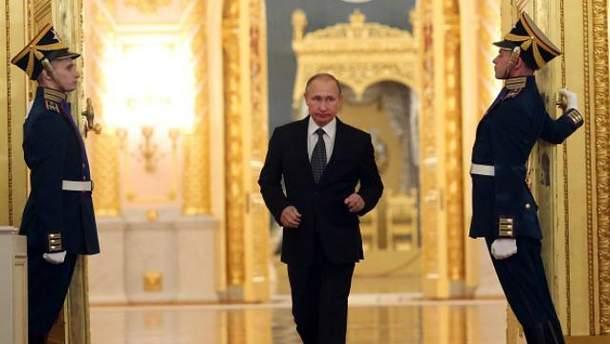 Путін приймав ватажка найманців у Кремлі