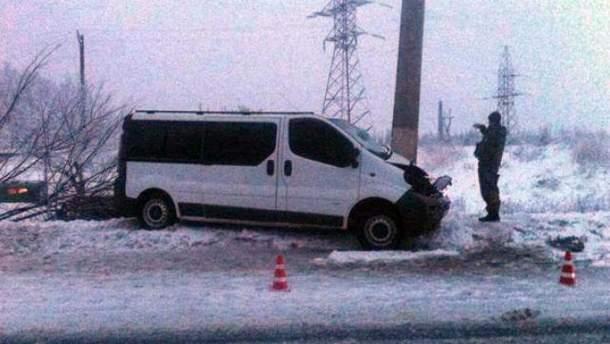 Автобус їхав з Покровська до Харкова