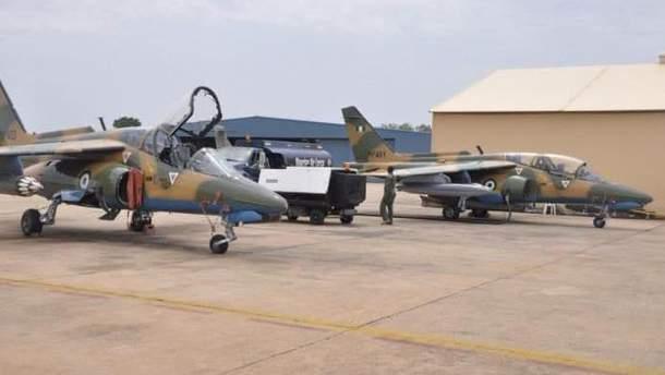 Самолеты нигерийских ВВС