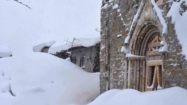 Італія у сніговому полоні