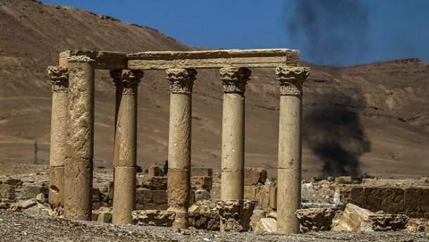 ИГИЛ разгромил часть амфитеатра в Пальмире