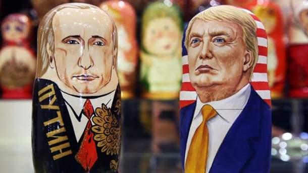 """Російський Путін і """"американський"""" Трамп"""