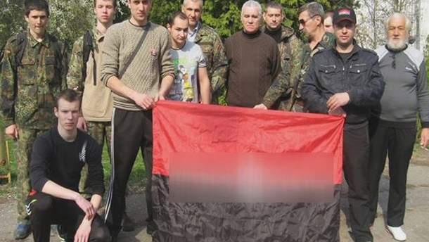На фото Георгий Стоцкий (справа)