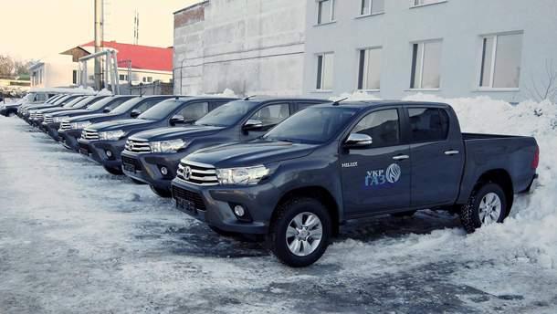 """Toyota Hilux для """"Укргазвидобування"""""""