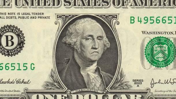 Доллар снова теряет на наличном рынке