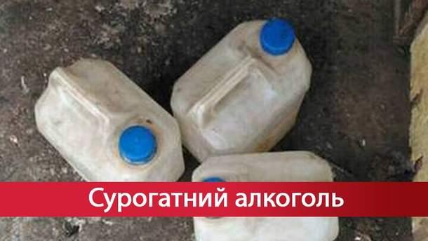Необычный цех по изготовлению суррогатного алкоголя обнаружили в Харькове