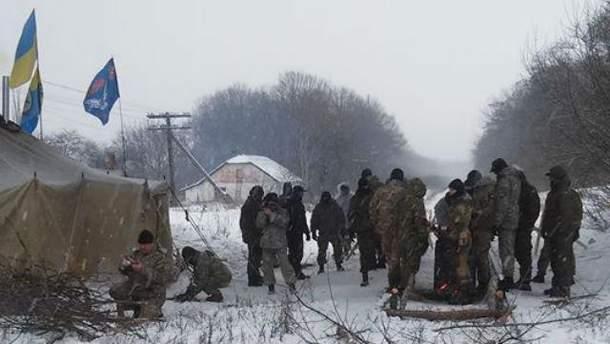 Заблокована залізниця на Луганщині
