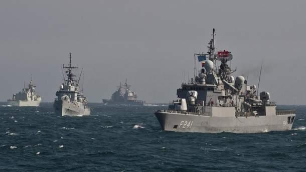 """Учения НАТО """"Морской щит"""""""