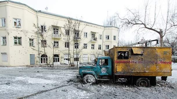Донецк пострадал от обстрелов