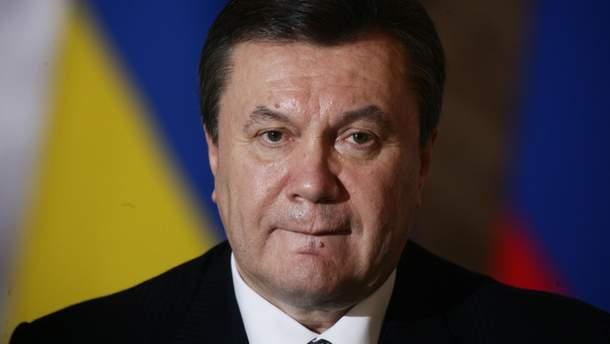 Экс-президент Виктор Янукович