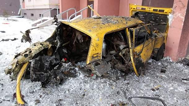 Донецк страдает от обстрелов