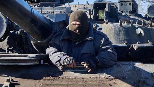 Боевики стреляли на Донбассе из танков минометов и гранатометов
