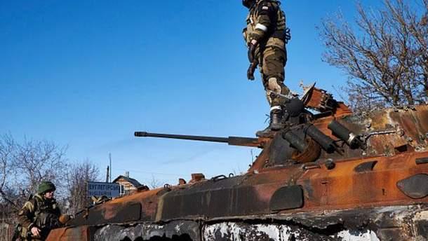 Российские военные на Донбассе совершают самоубийства