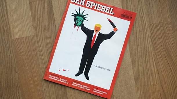 Трамп на обложке Der Spiegel