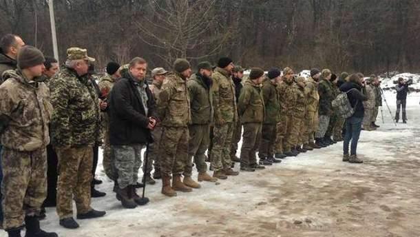 Новобранці Української добровольчої армії