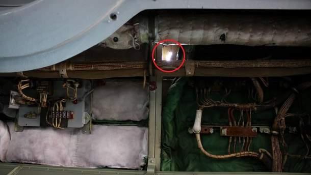Обстріляний  Ан-26
