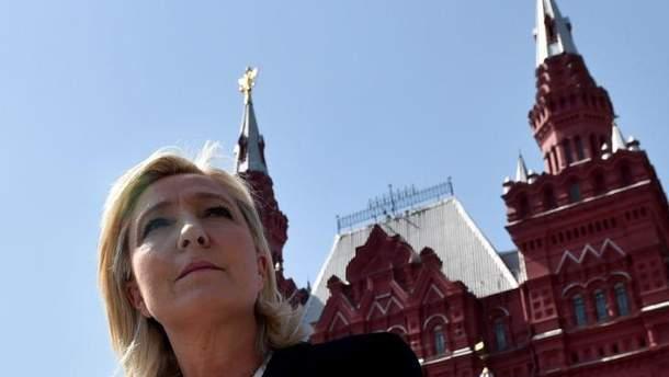 Марін Ле Пен в Москві