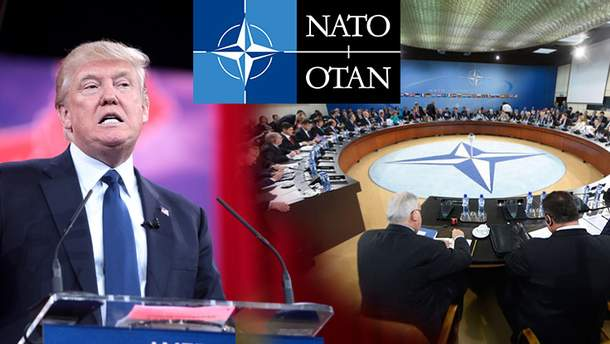 Трамп і НАТО