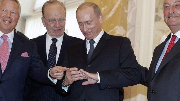 Путін, американські мільярдери і вкрадена каблучка